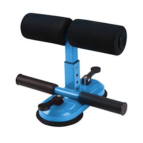 Wishstar Sit Up Bar de Auto Succión,Máquina de Ejercicios Abdominales,Dispositivo de Entrenamiento de Músculos Abdominales para Entrenamiento en Casa(Azul)