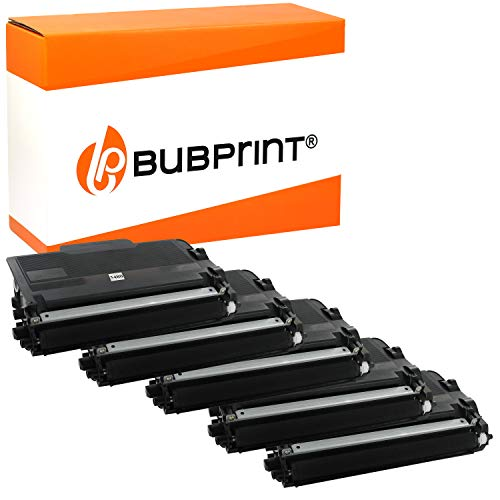 5 Bubprint Toner kompatibel fur Brother TN 3480 TN 3430 DCP L5500DN HL L5000D HL L5100 HL L5100DN HL L5100DNT HL L5100DNTT HL L5200DW HL L6400DW MFC L5700DN MFC L5750DW MFC L6800DW Schwarz