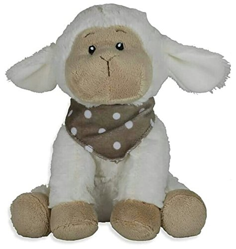 Supersüß Schaf sitzend mit Halstuch 23 cm, Schmusetier ,Kuscheltier,Plüsch