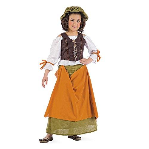 Limit Sport - Disfraz de tabernera medieval Agnes para niña (MI656)