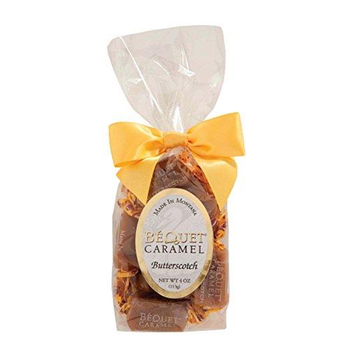 Bequet Confections Butterscotch Caramel, 4 Ounce