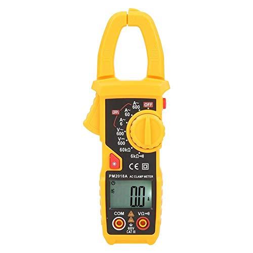HYY-YY Medidor de abrazadera, multímetro digital PM2018S, medidor de abrazadera digital LCD, medidor de voltaje AC/DC (PM2018A)