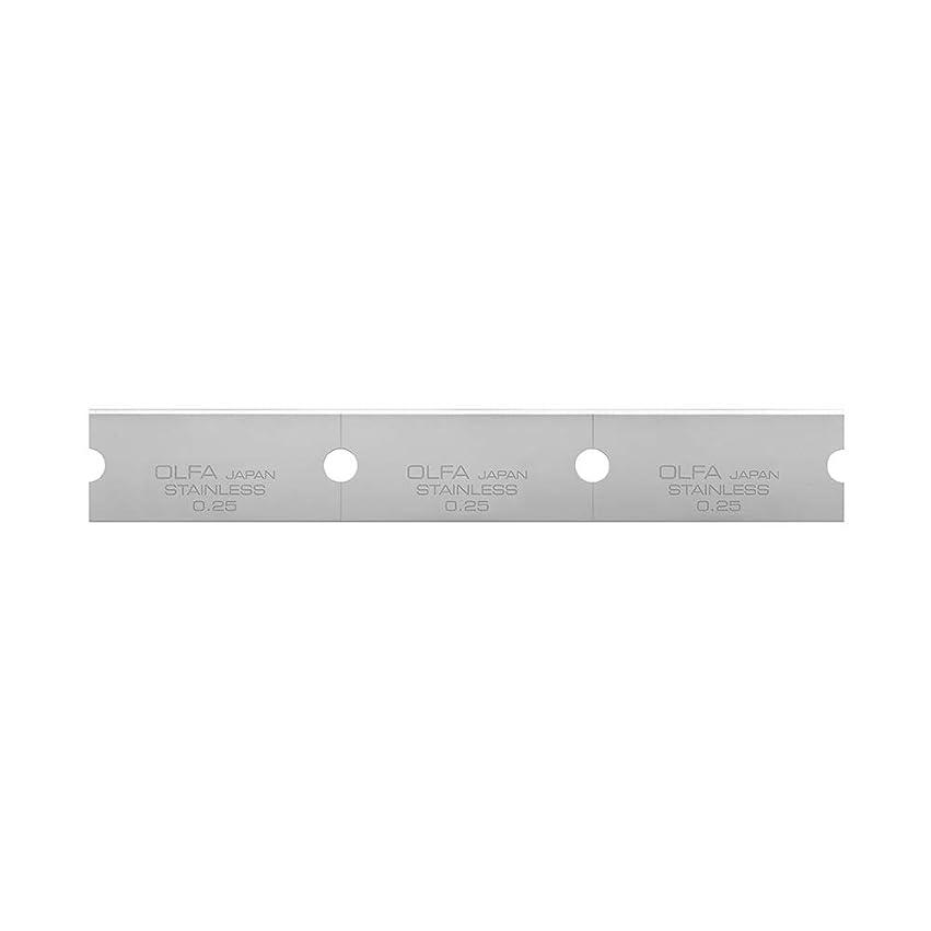 エロチックお肉インフルエンザオルファ(OLFA) Gスクレーパー替刃ステンレス(30枚入) XBGSCR-SL