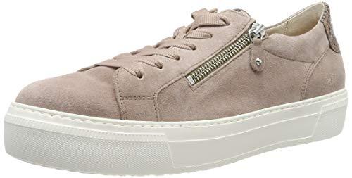 Gabor Damen Jollys 23.314. Sneaker, Mehrfarbig (Rouge/ENGL.Rose 14), 38.5 EU