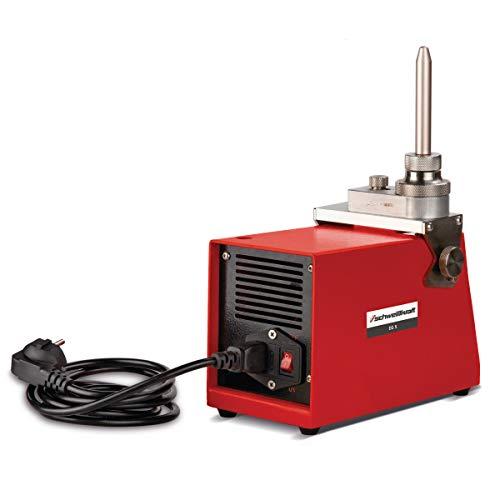 Schweißkraft Elektrodenschleifgerät EG 5 (Schleifwinkel einstellbar 15-60°, für Elektroden ø 1,6 – 5,0 mm, Schleifgerät, inkl. Schleifscheibe) 1692005
