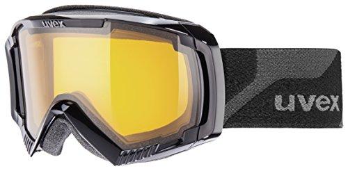 UVEX Skibrille Apache II, Black/Lgl, One size