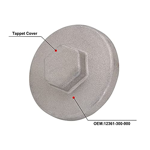 Motorcycle Engine Valve Tappet Adjustment Cover Cap Replacement For CT90 TRX400EX CB750 12361-300-000