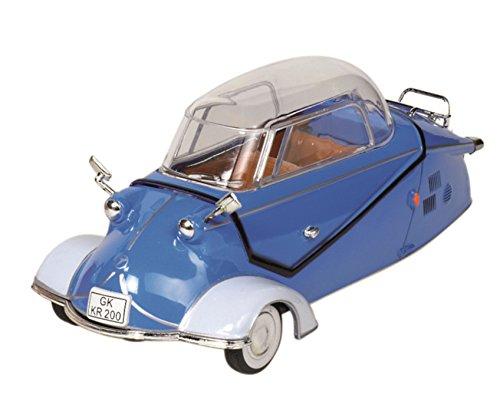 Messerschmitt Kabinenroller KR 200 1957 blau 1:18 12091