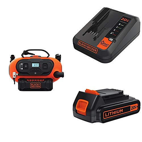 BLACK and DECKER Cordless Tire Inflator