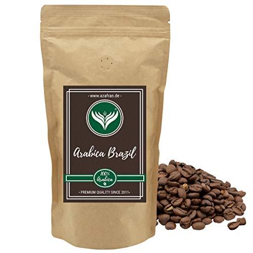 Azafran Kaffeebohnen ganz 100% Arabica aus Brasilien helle Premium Röstung mild 500g