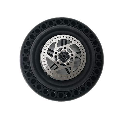 Zidao Eléctrico Scooters De Neumáticos A Prueba Explosiones, La Rueda Conjunto Que Incluye Pastillas Freno Adecuados para Sustitución Trasera Scooter,A
