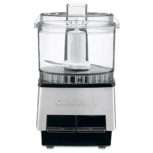 Cuisinart DLC-1SS Mini-Prep Processor, Brushed Stainless Steel, Silver, 2.63 Cup