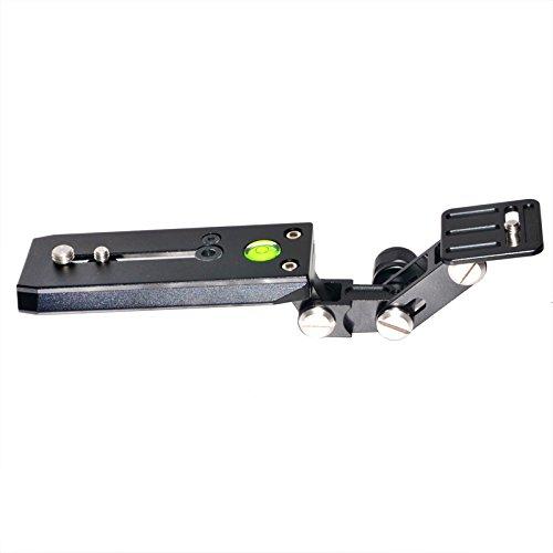 XT-XINTE Telelens Lange Focus Houder Ondersteuning Beugel Kit 120mm QR Basisplaat voor Vogels Kijken SLR Camera Manfrotto Statief