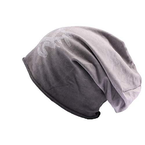 JBB COUTURE Bonnet Oversize Gris - Mixte