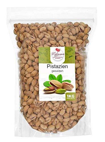 Pistazien | Nüsse | geröstet | gesalzen | Superfood | 1kg | mit Schale ||Premium Ware |100% Natural BIO | 1000g