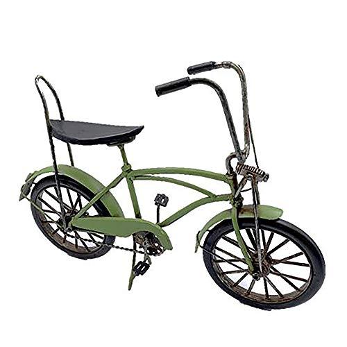 Pamer-Toys Modellfahrrad aus Blech - im Antik-Vintage-Retro-Style - Bonanza Fahrrad, grün