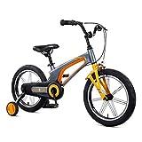 ZMDZA Bicicletas for niños, bicicletas niños con ruedas de entrenamiento, bicicletas de los niños de bicicletas de aleación de magnesio niños de 14 pulgadas / 16 pulgadas de bicicletas niños de 3-8 añ