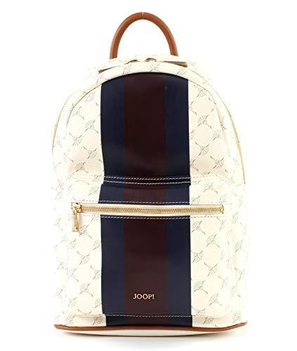 Joop! Damen Cortina Due Salome Backpack Mvz Rucksackhandtasche, Weiß (Offwhite), 15x33x23 cm