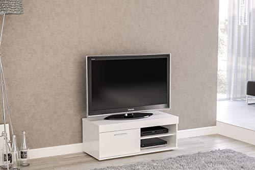 Birlea, Edgeware TV-Einheit, klein, Weiß