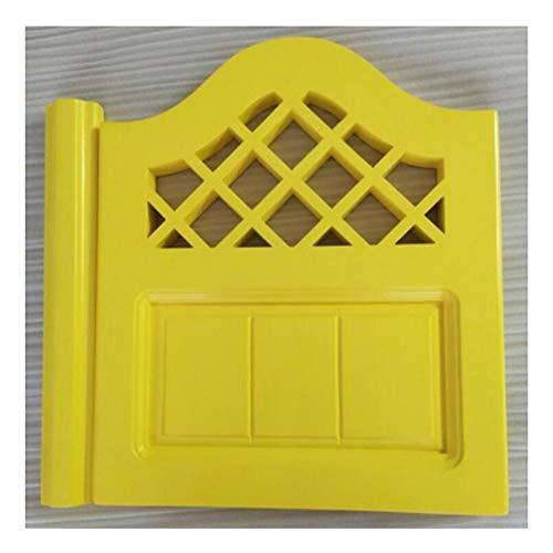 Schwingtür Kiefernholz zum Cafe Bar Küche Garten Terrasse Eingang Verwenden, Anpassbar (Color : A, Size : 60x90cm)