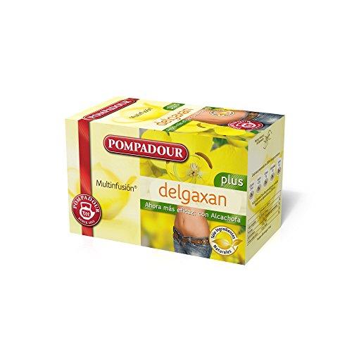 Pompadour 237348 - Tee Degazan Plus - Pack 20 Beutel