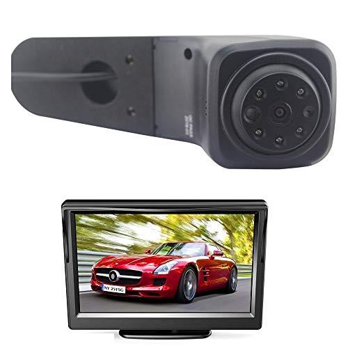 Cámara de repuesto para cámara de retroceso HD 700TV LINE + pantalla de monitor de 5 pulgadas para VW Crafter Transporter Cargo Van 2017-2018