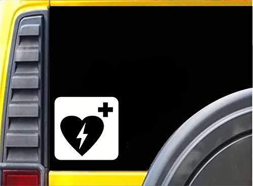Medizinische Geräte Notfall und Erste Hilfe Defibrillator Auto Aufkleber für Wand Laptop Auto Styling Aufkleber