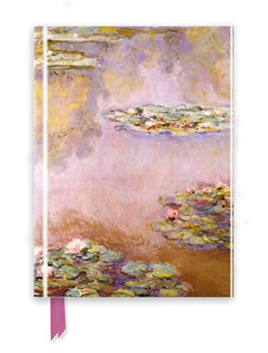 Monet: Waterlilies (Foiled Journal) (Flame Tree Notebooks)