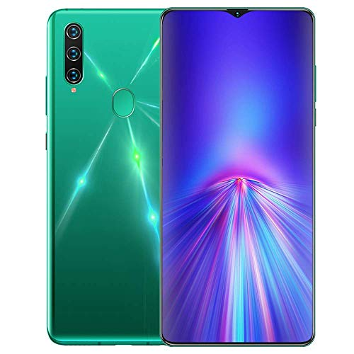 A91 Maximum support expansion 128GB Smartphone Unlocked, Android 9.0 Cell phone, 6.7 Inch Waterdrop Display, Triple Camera, with Face/Fingerprint Recognition/OTG/GPS