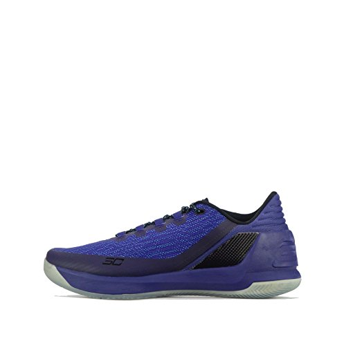 Under Armour UA Curry 3 Low Mens Basketball Trainers 1286376 Sneakers Shoes (US 9.5, purple blue 540)