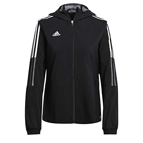 adidas Tiro21 Wb W Giacca da donna, Donna, giacca, GP4969, Nero , M