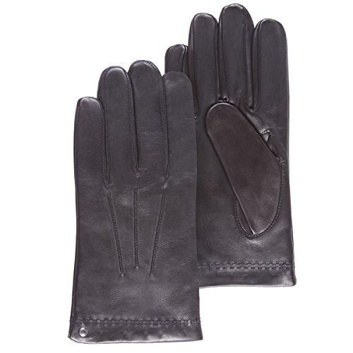 Isotoner - Gants cuir homme (69077) 9.5 - Noir - Taille X-Large