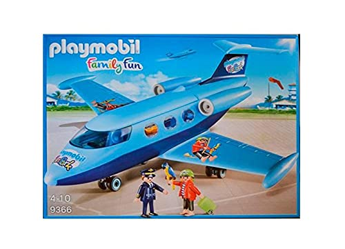 Playmobil Family Fun 9366 Fun Park Vacanze da Aviatore