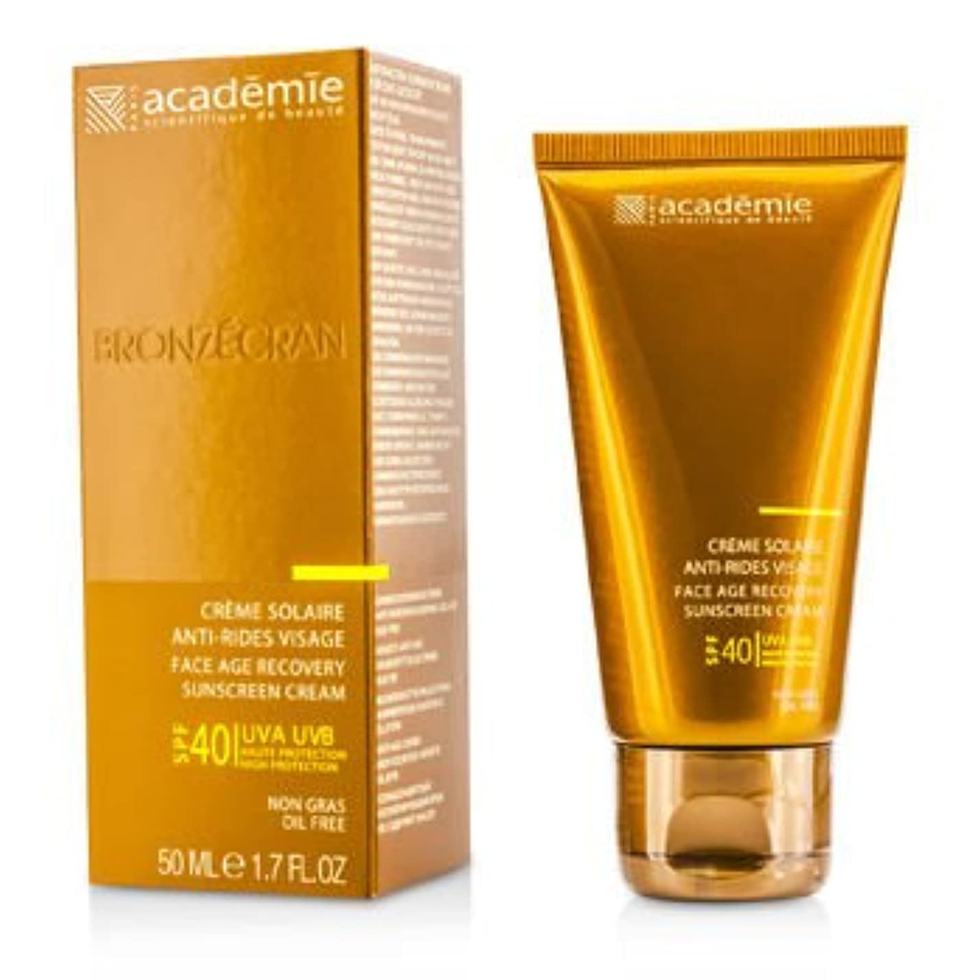 悪夢資産充実[Academie] Scientific System Face Age Recovery Sunscreen Cream SPF40 50ml/1.7oz