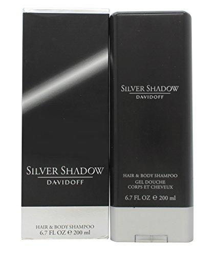SILVER SHADOW by Davidoff HAIR & BODY SHAMPOO 6.7 OZ by Hair