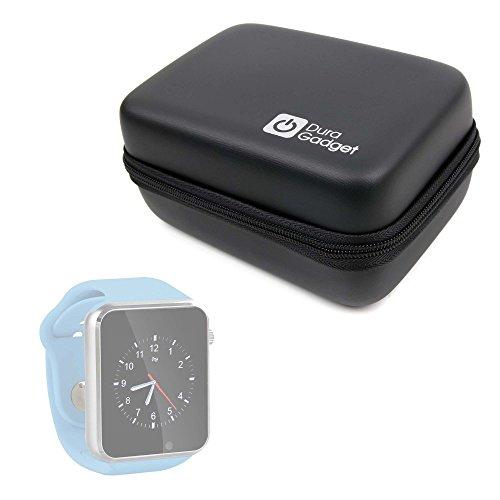 DURAGADGET Funda Rígida para Reloj YuanGuo® | Smarter® | Smartlife YG8 | Stoga ST-DM360 | Turnmeon | Viwel | VOSMEP + Mini Mosquetón