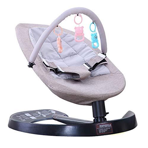 AFTO Silla Mecedora de bebé recién Nacido artefacto de Moda, Silla Mecedora de la Cesta de bebé multifunción