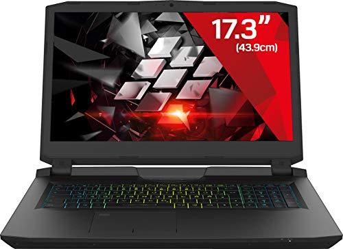 Gaming Laptop Kiebel Konfigurator (17.3 Zoll) Notebook NVIDIA GTX 1070 8GB, Intel i7 8750H (6x2.2GHz) wählbar: bis 32GB DDR4, bis 2TB SSD [181168]