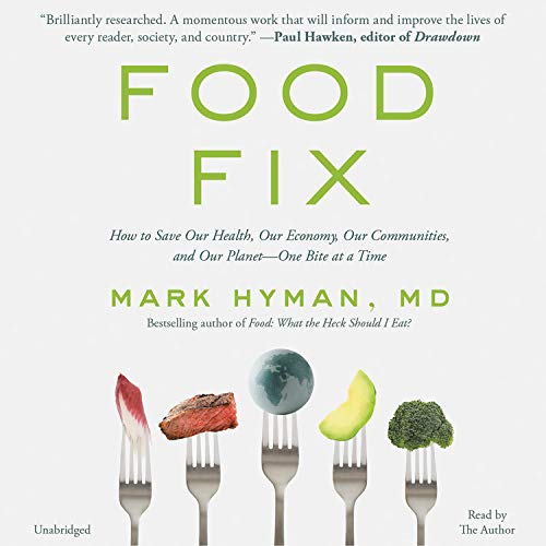 Food Fix Audiobook By Dr. Mark Hyman MD cover art