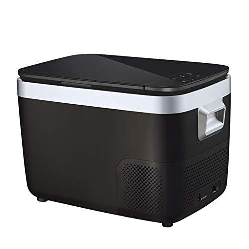 LS Refrigerador Portátil De 18 Litros, Congelador De Enfriador De Coche, Nevera Compacta Para Uso Doméstico Con Compresor Y Control De Aplicaciones, -18 ° C ~ 10 ° C, DC 12 / 24V, AC 110 / 220V
