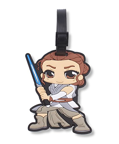 The Last Jedi Silicone Travel Luggage Baggage Identification Labels ID Tag for Bag Suitcase Plane Cruise Ships with Belt Strap Finex 4 Pcs Set Star Wars