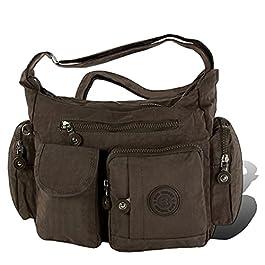 Sac à main en nylon Crinkle pour femme, sac à bandoulière sac épaule, sac, sac de shopping