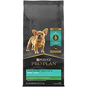 Purina Pro Plan High Protein Small Breed Dry Puppy Food, Chicken & Rice Formula – 6 lb. Bag