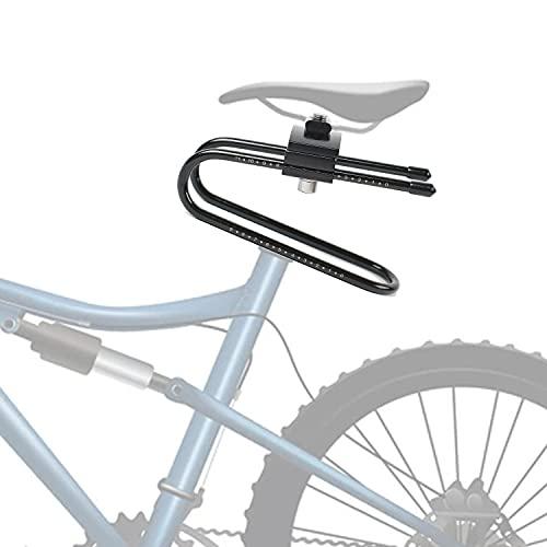 MaxAwe Stoßabsorbierende Sattelfeder, Fahrrad Sattelstütze Dämpfer, Fahrradsattel Federvorrichtung Federung Gerät für Mountainbike, Rennrad und Fahrradteile (Schwarz 2)
