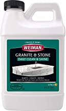 Weiman Granite Cleaner and Polish Refill - 64 Ounce - Safely Cleans and Shines Granite Marble Soapstone Quartz Quartzite Slate Limestone Corian Laminate Tile Countertop