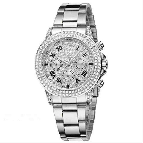 WMYATING Exquisito, Hermoso, decente, novedoso y único. Relojes de Pulsera Relojes Casuales de Moda y Mujer. (Color : 2)