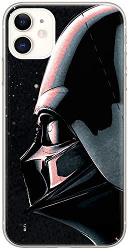 Estuche para iPhone 11 Star Wars Darth Vader, Guerra de Las Galaxias, Original con Licencia Oficial, Carcasa, Funda, Estuche de Material sintético TPU-Silicona, Protege de Golpes y rayones