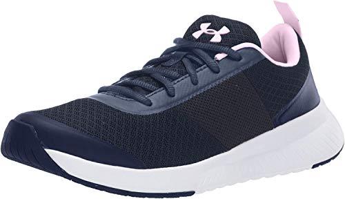 Under Armour Women's Aura Trainer Sneaker, Downpour Gray (400)/Halo Gray, 7