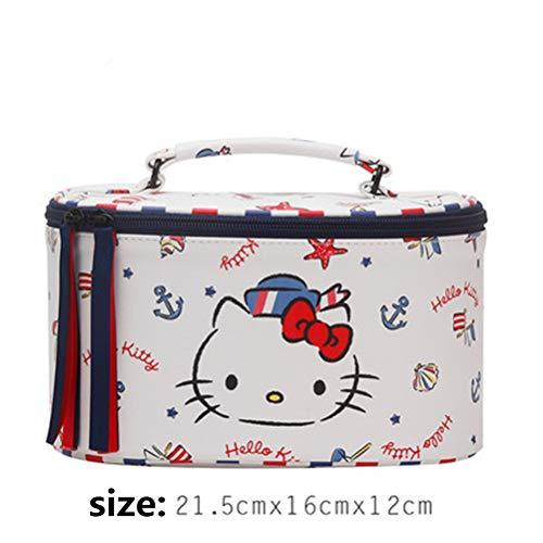 Hello Kitty Make-Up Tas Schattig Japans Waterproof Portable Schoolmeisje Koreaanse Cute Grote Capaciteit Storage Bag Dierlijk Patroon Storage Bag,M3