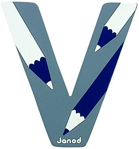 Janod - J04591 - Lettre ABCDéco Bois - V